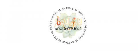 Volunteering with Buddahfield logo