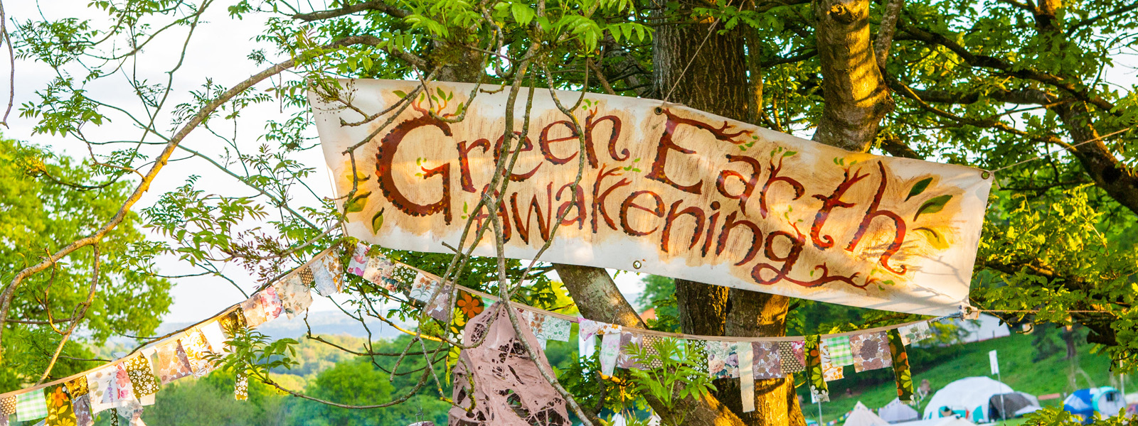 Green Earth Awakening Banner